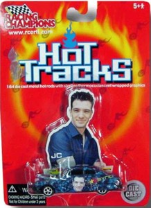 Rock and Roll Collectibles - Hot Tracks NSync JC Chavez Car