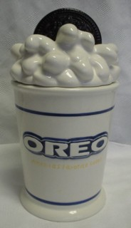Oreo Cookie Ceramic Cookie Jar