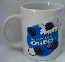 Oreo Cookie Ceramic Coffee Mug