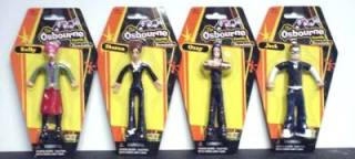 Rock and Roll Collectibles - The Osbourne Figural Bendies