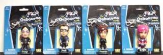 Rock and Roll Collectibles - The Osbourne Figural Keychains