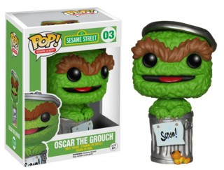 Sesame Street - Oscar the Grouch POP Vinyl Figure