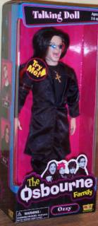 Rock and Roll Collectibles - Ozzy Osbourne Talking Doll