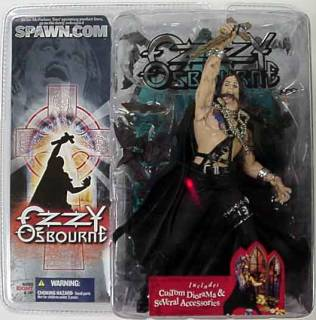 Rock and Roll Collectibles - Ozzy Osbourne McFarlane Figure Doll