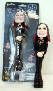Rock and Roll Collectibles - Ozzy Osbourne Bobbing Head Pen