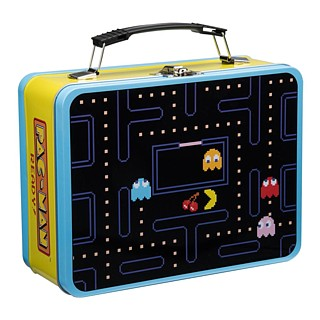 PacMan Metal Lunch Box Tote