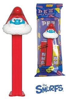 Smurf Collectibles - Papa Smurf Pez Dispenser
