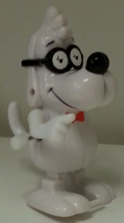 Mr. Peabody & Sherman Collectibles - Mr. Peabody White Knob Windup Walker