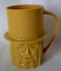 Planters Collectibles - Mister Peanut Plastic Cup Mug