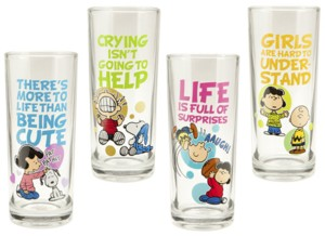Snoopy and Peanuts Collectible Glasses