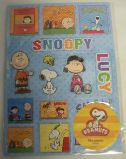 Snoopy and Peanuts Collectibles - Peanuts Gang Magnets