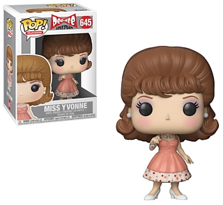 Television Character Collectibles - PeeWee Herman and PeeWee's Playhouse Miss Yvonne POP Vinyl Figure