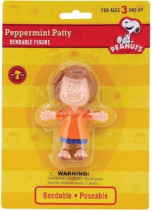 Snoopy and Peanuts Collectibles - Peppermint Patty Bendy Figure
