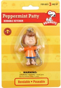 Snoopy and Peanuts Collectibles - Peppermint Patty Bendy Keychain