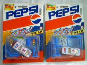 Pepsi-Cola Collectibles - Pepsi and Diet Pepsi Stock Cars