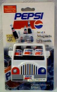 Pepsi-Cola Collectibles - Pepsi Magnets
