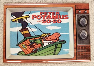 Television Character Collectibles - Hanna Barbera's Peter Potamus TV Magnet