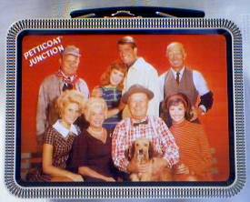 Television from the 1960's Collectibles - Peticoat Junction - Mini Metal Lunch Box Tin