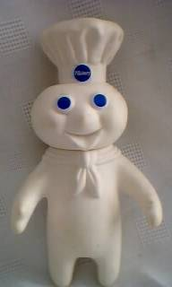 Pillsbury Collectibles - Poppin' Fresh Dough Boy Vinyl Figure Doll