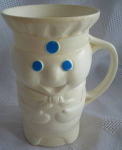 Pillsbury Collectibles - Poppin' Fresh Dough Boy Plastic Mug / Cup