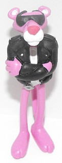 Pink Panther Collectibles - Pink Panther PVC Figure Leather Jacket