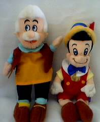 Walt Disney - Pinocchio and Gepetto Beanies