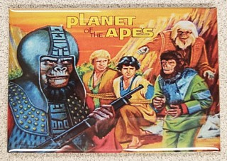 Planet of the Apes Collectibles - Metal Magnet