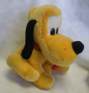 Disney Collectibles - Pluto Plush Atuffed Animal