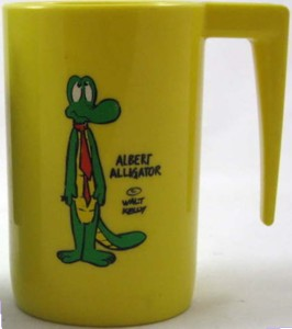 Character Collectibles - Pogo Albert Alligator Plastic Cup