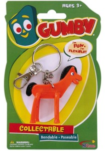Cartoon Collectibles - Pokey Bendy Keychain