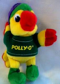 Food Collectibles - Polly-O Parrot Beanie Plush