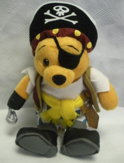 Walt Disney Collectibles - Pirate Pooh Beanie