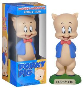 Looney Tunes Collectibles - Porky Pig Bobble head Doll Nodder
