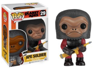 Planet of the Apes Collectibles - Ape Soldier Vinyl Figure