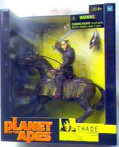 Planet of the Apes Movie Figure - Thade on Horse