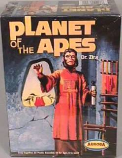 Planet of the Apes Collectibles - Doctor Zira Aurora Model