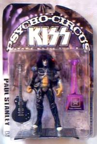Rock and Roll Collectibles - Kiss Paul Stanley Psycho Circus Figures