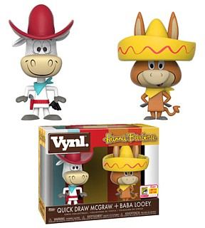 Hanna Barbera Collectibles - Quickdraw McGraw and Bab Looey VYNL Vinyl Figures