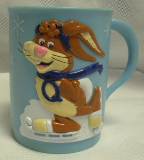 Advertising Collectibles - Nestle Quik Bunny Plastic Mug Cup
