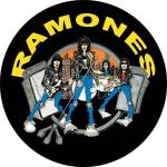 The Ramones - The Ramones Road to Ruin pinback Button