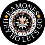 The Ramones - The Ramones Hey Ho Let's Go pinback Button