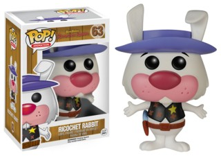 Hanna Barbera Collectibles - Ricochet Rabbit Pop Vinyl Figure Funko