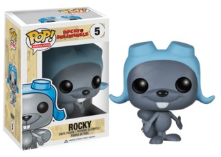 Rocky & Bullwinkle Collectibles - Rocky the Flying Squirrel Vinyl Figure POP! Animation from Funko