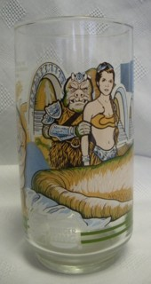 Star Wars Collectibles - Return of the Jedi ROTJ Coke Glass