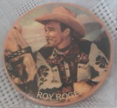 Television, Radio and Movie Collectibles - Roy Rogers Pocket Mirror