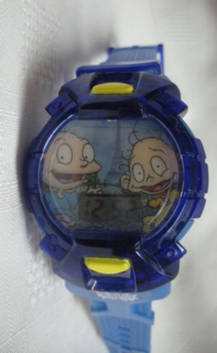 Nickelodeon Cartoon Television Character Collectibles - Rugrats Watch