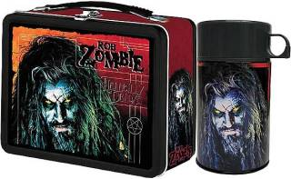 Rock and Roll Collectibles - Rob Zombie Lunchbox & Thermos