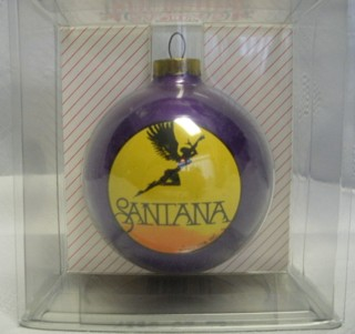 Classic Rock Music Collectibles - Santana Christmas Ornament