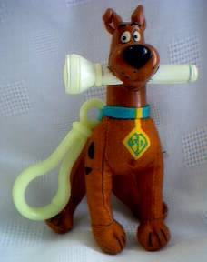 Scooby Doo Collectibles - Scooby Doo Plush Clip On Figure