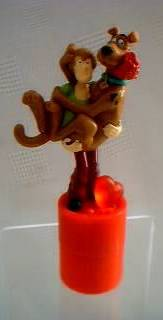 Scooby Doo Collectibles - Scooby Doo Valentine Topper with Shaggy